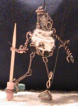 Copper Finger Puppet