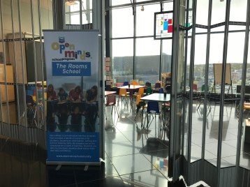 A cool space for kids to come and learn.